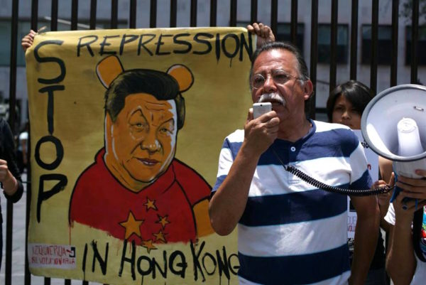 International solidarity actions with Hong Kong democracy struggle